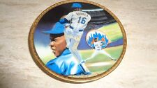 1989 Baseball Mini Plate -  Dwight Gooden - New York Mets