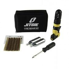 New Jitsie Trials Bike Tubeless Tyre Repair Kit Puncture Pump Gas Gas Sherco
