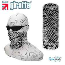 G538 Black Snake Multifunctional Headwear Snood Bandana Headband Ski cycle run