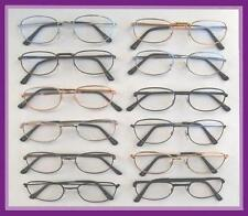 Mr. Reading Glasses 12 Pair Metal Frame [+3.75] Wholesale Reader Men Women 3.75
