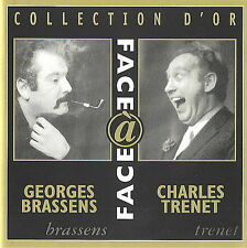 FREE US SH (int'l sh=$0-$3) ~LikeNew CD Brassens, Georges: Collection d'Or Impor