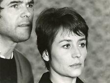 ANNIE GIRARDOT MICHEL COURNOT LES GAULOISES BLEUES 1968 PHOTO VINTAGE ORIGINALE