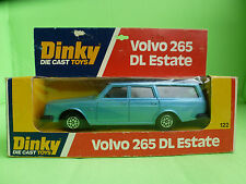 DINKY TOYS  122     VOLVO 265 DL ESTATE      IN EXCELLENT CONDITION   IN BOX