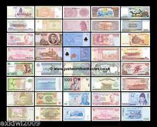 ASIA BANKNOTE COLLECTION - 20 DIFFERENT UNC BANKNOTES 20 PCS  SET # 3
