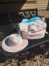 Dog/Cat/Pet/Backpack/Carrier/Bag - Casual Canine - The Beachcomber w/ Hat - NEW