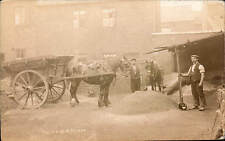 Sheffield Asphalting Co. Horse & Cart by W.R.Moore. Stone Industry.
