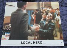 LOCAL HERO lobby card #4  - mini uk card - 8 x 10 inches