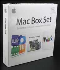 NEU Apple Mac Box Set Familypack 5er mit: iWork 09, iLife 11 & 10.6 Snow Leopard