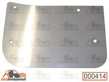 RENFORT NEUF en INOX pour bavette avant DROITE ou GAUCHE de Citroen 2CV  -414-