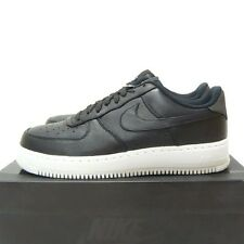 Nike Air Force 1 basso SP UK 11.5 EUR 47 US 12.5 NikeLab Lab QS Nero Flyknit Max
