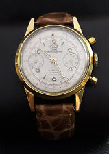 CHRONOGRAPHE SUISSE VENUS 188 GP 50th VINTAGE RARE 17J SWISS WATCH.
