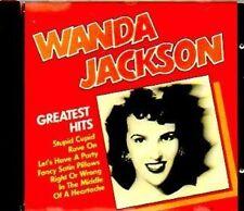 Wanda Jackson Greatest hits (14 tracks, 1987, CH) [CD]