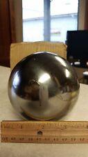 CHROME STEEL SHOT PUT BALLS, 9 POUND, 100 MM (3.938 INCH) BALL BEARING