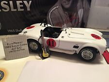 1965 Shelby Cobra ELVIS PRESLEY Spinout w/Guitar Franklin Mint PRODUCTION SAMPLE