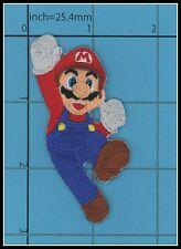SUPER MARIO Patch Game Bros. Nintendo Luigi Mushroom coins NES 3D TOP QUALITY