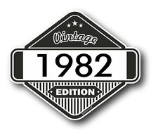 Vintage Edition 1982 Classic Retro Cafe Racer Style Vinyl Motorcycle car sticker