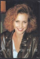 GABRIELLE CARTERIS 01 ANDREA ZUCKERMAN Beverly Hills 90210 ATTRICE TV Cartolina