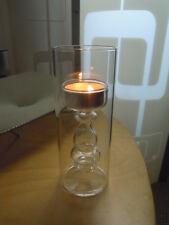 INVOTIS portalumino tealight in verto soggiato borosilicato PICCOLO