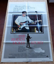 The Buddy Holly Story Movie Poster, Original, Folded, One Sheet, year 1978, USA