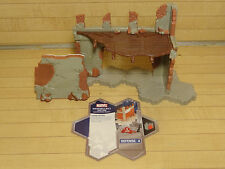 Heroscape Terrain - Marvel Set Breakable Wall Section - Expand Your Battlefield