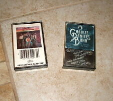 LOT of 2 CHARLIE  DANIELS BAND CASSETTES MILLION MILE REFLECTIONS DECADE OF HITS