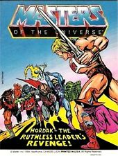 HE-MAN MOTU MINI COMIC HORDAK RUTHLESS LEADERS REVENGE GIVEAWAY PROMO MASTERS