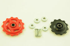 SHIMANO JOCKEY WHEELS 11 TOOTH 13 TEETH REAR DERAILLEUR GEAR MECH PULLEY SET