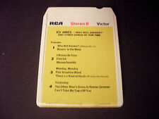 Ed Ames-Who Will Answer 8-Track Tape-Good Condition