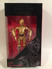 STAR WARS BLACK SERIES C-3PO 6 INCH FIGURE WALGREENS EXCLUSIVE NEW NICE