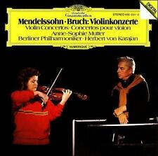 Mendelssohn/Bruch: Violinkonzerte - Anne-Sophie Mutter Violin (CD) West Germany
