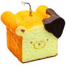 11CM Giant Cute Rilakkuma Squishy Phone Strap Bread Scent Toast Gift Hand Pillow