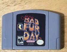 Nintendo N64 Game Conker's Bad Fur Day Video repro Cartridge Console Card Eng