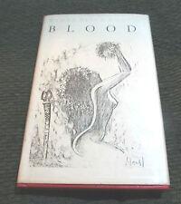 H.H. Ewers Hanns Heinz Ewers Blood '77 '30 signed hand #'d HB HC horror w/dj ltd