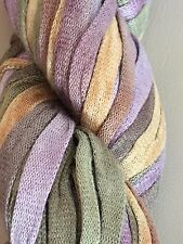 """DISCONTINUED PRISM DIANA BULKY WT - 1/4"""" RIBBON YARN - COLOR TUMBLEWEED"""