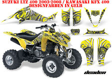Amr racing decoración Graphic kit ATV suzuki ltz & Kawasaki KFX deaden B