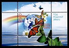 Nationales Jahr des Umweltschutzes. Schmetterlinge. Block. Weißrußland 2009