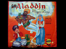 Cricket Records ALADDIN AND HIS MAGIC LAMP Norman Rose MECOLICO Stamp C5