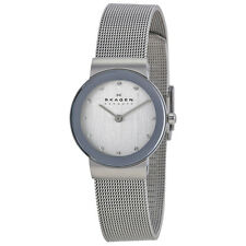 Skagen Classic Mesh Ladies Watch 358SSSD