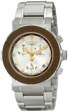 New Invicta 10932 Mens Ocean Reef Swiss Chronograph Brown Bezel Bracelet Watch