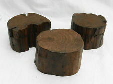 Slide Top Wooden Trinket Box / Ring Box / Jewellery  Natural Log Shapes - BNWT