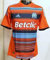 OLYMPIC MARSEILLE PLAYER ISSUE 2011/12 S/S 3RD SHIRT BY ADIDAS SIZE XL BRAND NEW