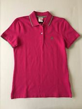 NWT Women's Brooks Brothers 346 Original Fit Polo Shirt SS Pink Green - XSmall