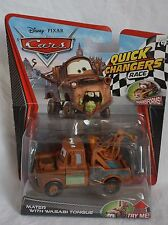Disney Pixar Cars Quick Changers Race Series Mater With Wasabi Tongue NEW