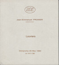 CATALOGUE PRUNIER LOUVIERS 1990 TABLEAUX 17 & 18e SIECLE DIGNIMONT PAUL THOMAS..