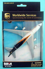 Daron Boeing 747 model UPS cargo freight aircraft airplane Mint approx 1/400 D02