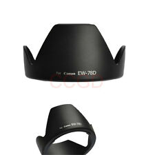 LENS HOOD EW-78D For CANON 18-200 mm EOS 7D 50D 40D 550D