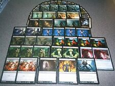 MTG Magic THE Innistrad BLACK BLOCK Zombie DECK Ghouls Reaper of the Abyss LOT