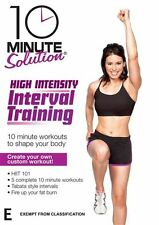 10 Minute Solution: High Intensity Interval Training * NEW DVD * HIIT fat burn