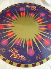 Vintage 1992 MB Ask Zandar Board Game Gameboard Only Fortune Telling