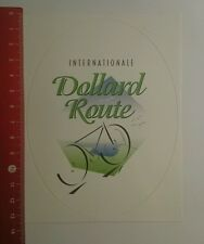 Aufkleber/Sticker: Internationale Dollard Route (230916149)